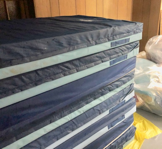 Mattresses to be used this winter season.