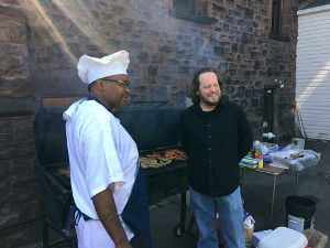 Cook out at REACH Home 2016